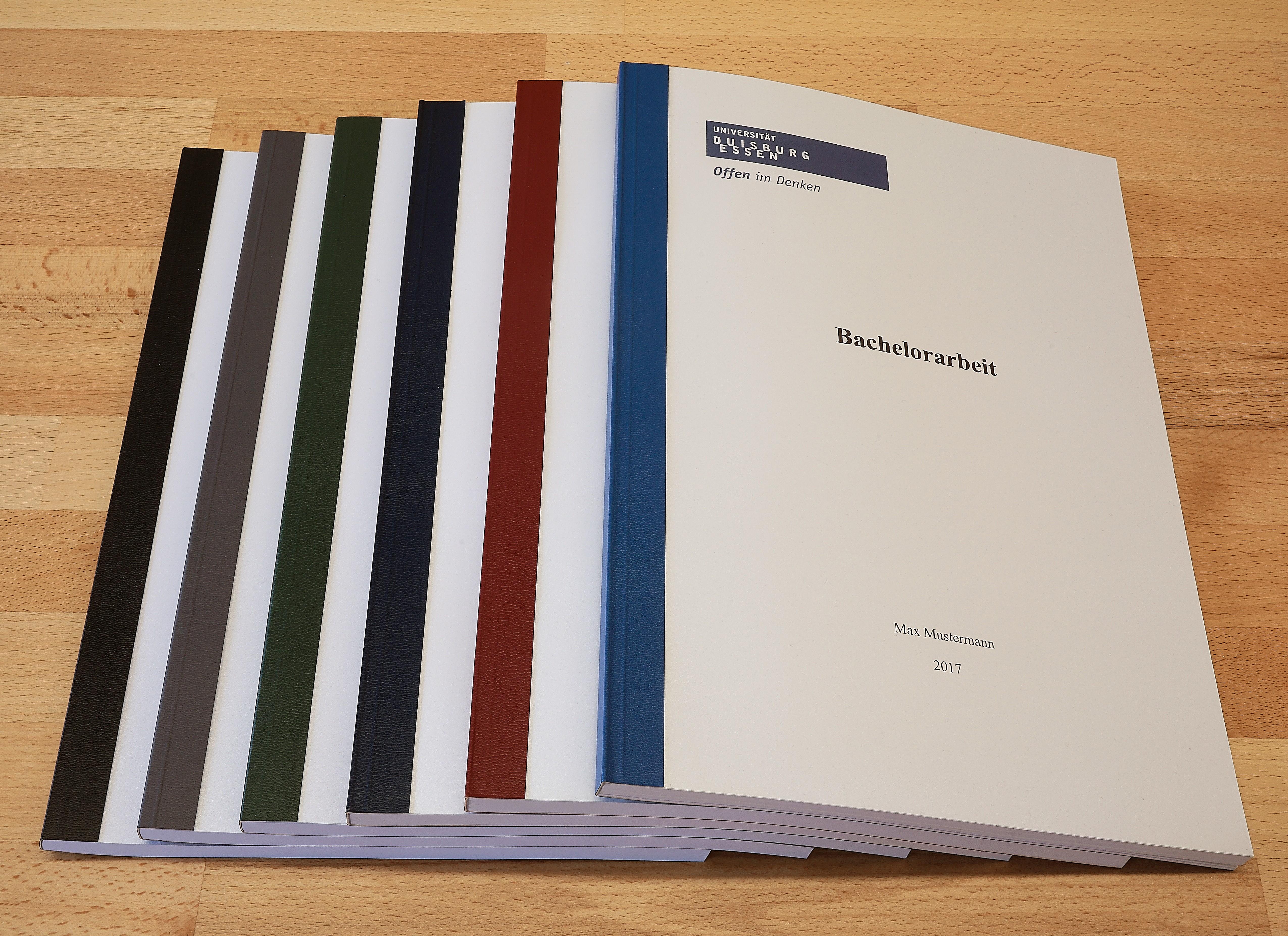 Leimbindung Professional Arbeit Drucken Binden Abschlusssarbeiten Versandfertig In Max 24 Stunden